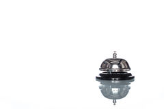 Service bell on white background,  customer demand Royalty Free Stock Photography