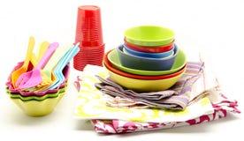 Service buffet table Stock Photos