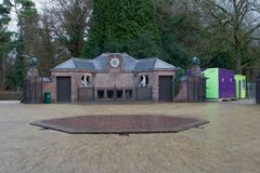 Service building of Hunting Lodge St. Hubert, Netherlands Royalty Free Stock Images
