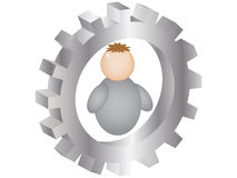 Service button Stock Images