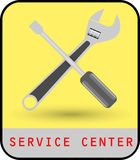 Service-Center Stockfoto