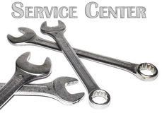 Service Center Logo Stock Photography