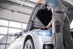 Service certifié moderne de voiture photo stock