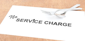 Service Charge Concept Stock Photos