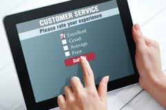 Service client en ligne Images libres de droits