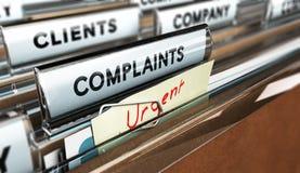 Service client, plainte Photo libre de droits