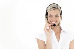 Service client representaive Photos libres de droits