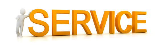 Service concept Stock Photos