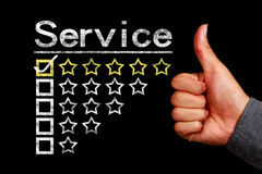 Service concept Royalty Free Stock Images