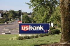 Service d'étoile de la banque cinq des USA Image stock