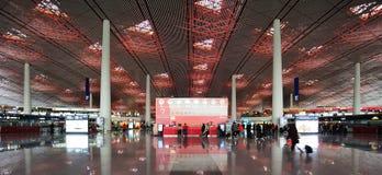 Service d'aéroport de Pékin Photographie stock