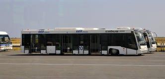Service d'aiport de VIP - bus Images stock