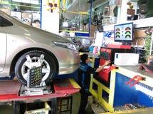 serviced'alignement de wheelPhotos stock