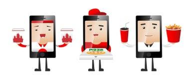 Service d'aliments de préparation rapide Image libre de droits
