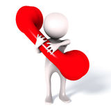 Service d'assistance rouge de téléphone de contactez-nous Photographie stock libre de droits
