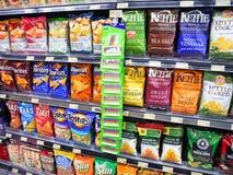 Service de casse-croûte de supermarché Photographie stock libre de droits