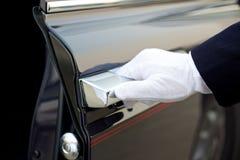 Service de chauffeur Image stock