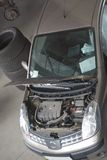 Service de compartiment d'engine de véhicule Photographie stock