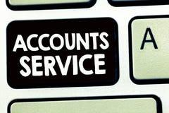 Service de comptes d'apparence de note d'écriture Liste d'accès de présentation de photo d'affaires de profils d'utilisateur et i photographie stock
