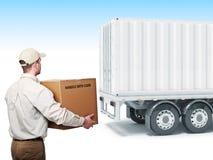 Service de courrier Images stock