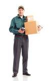 Service de distribution Photo stock