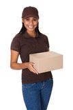 Service de distribution de courrier Images stock
