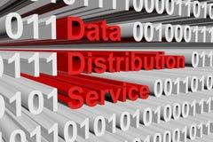 Service de distribution de données Illustration Stock