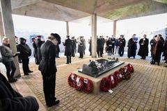 Service de jour de souvenir, chasse de Cannock image libre de droits