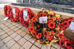 Service de jour de souvenir, chasse de Cannock photo libre de droits
