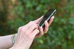 Service de mini-messages futé de téléphone Photo stock