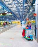 Service de nettoyage d'aéroport de Madrid†«Barajas Images libres de droits