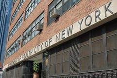 Service de New York City de santé photographie stock libre de droits