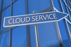 Service de nuage Photos stock