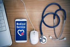 Service de santé image stock