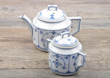 Service de thé Photographie stock libre de droits