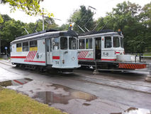 Service de tram photographie stock
