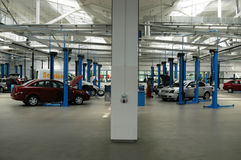 Service de véhicule photographie stock