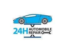 Service de voiture, mécanicien automobile travaillant dans le garage, service des réparations Photos libres de droits