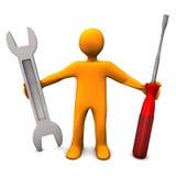 Service des réparations Photo stock