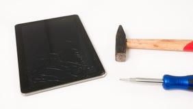 Service des réparations cher de l'électronique Images libres de droits