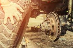 Service des réparations de voiture Images stock