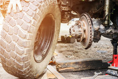 Service des réparations de voiture Photo libre de droits