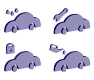 Service des véhicules Images stock