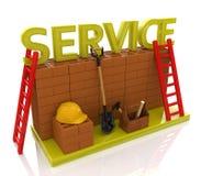Service royalty free illustration