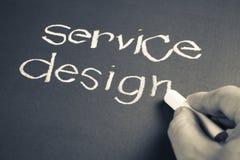 Service design Royalty Free Stock Image