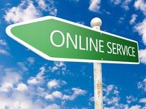 Service en ligne Photographie stock libre de droits