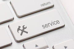 Service enter key Royalty Free Stock Photo
