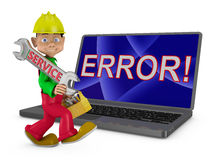 Service error Royalty Free Stock Images