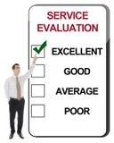 Service Evaluation Royalty Free Stock Photo