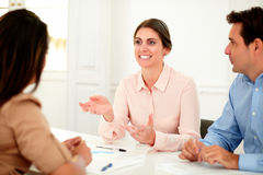 Service för affär för planläggning för lag för affärsgrupp Arkivfoton